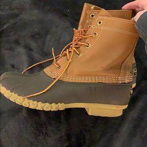 Bean boots lightly worn